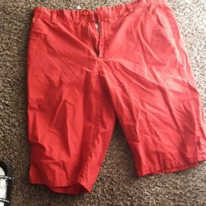 Pants - Mens red shorts size 38